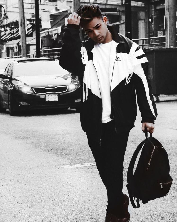 Vintage Adidas Jacket (Street wear)